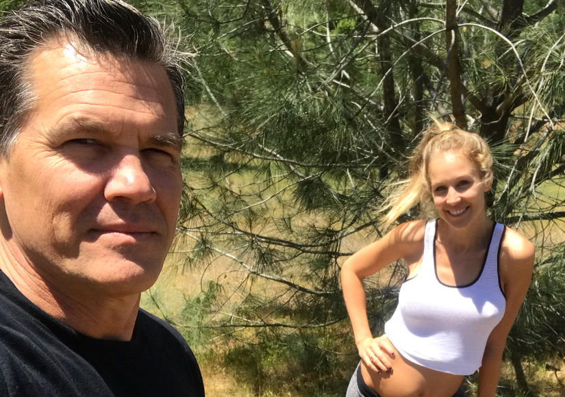 Josh Brolin Dishes on Wife Kathryn's Pregnancy