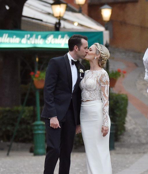 Wedding Pic! Matthew Lewis Secretly Marries Angela Jones