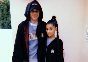 Ariana Grande & Pete Davidson Make It Instagram Official