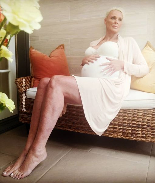 Brigitte Nielsen Talks Getting Pregnant at 54