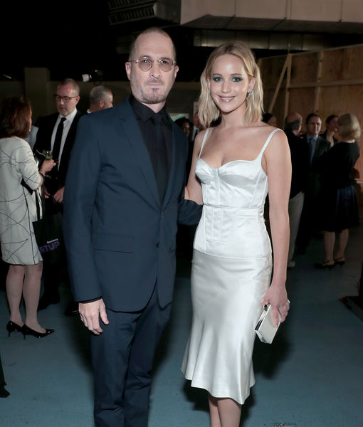 Pic! Jennifer Lawrence Reunites with Ex Darren Aronofsky