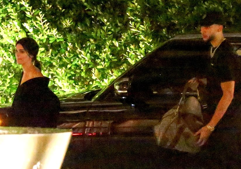 First Pics! Kendall Jenner & Ben Simmons Spotted Together at Waldorf Astoria Hotel