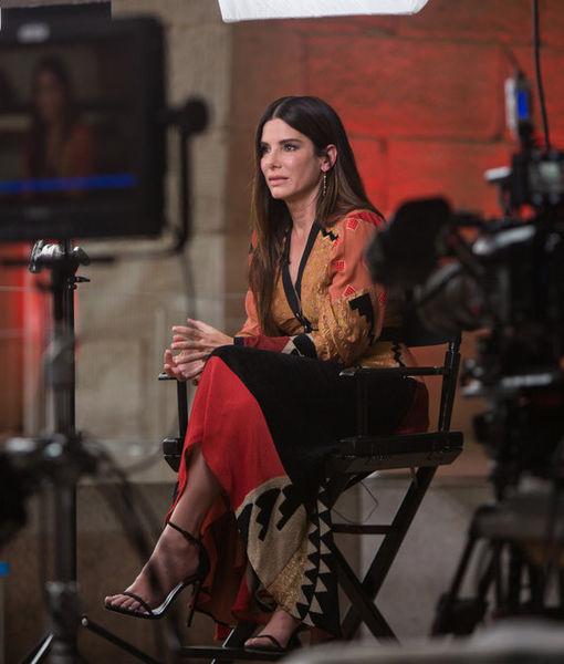 Sandra Bullock Tears Up Over Adoption