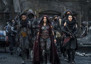 'The 100' Star Marie Avgeropoulos Talks Octavia, Bellamy & Echo,…