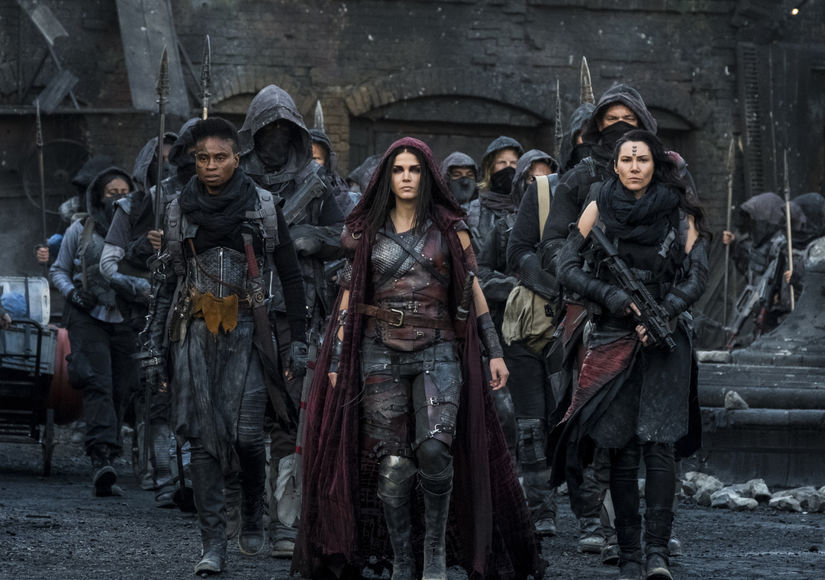 'The 100' Star Marie Avgeropoulos Talks Octavia, Bellamy & Echo, Cannibalism and Death