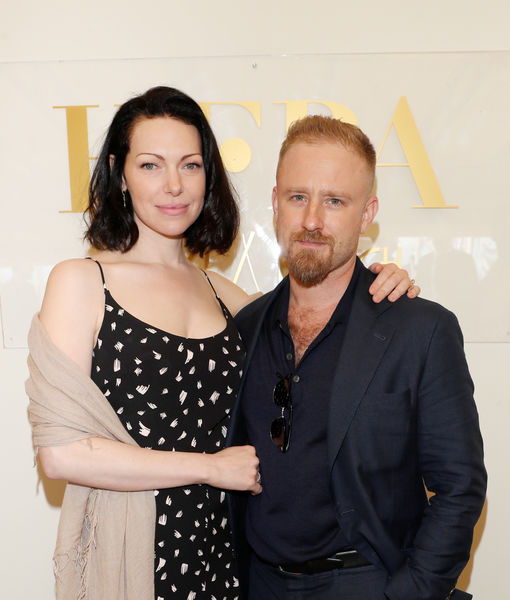 """""""Orange Is the New Black"""" actress Laura Prepon, 38, and """"X Men"""" actor Ben Foster, 37, are married, EOnline reports"""