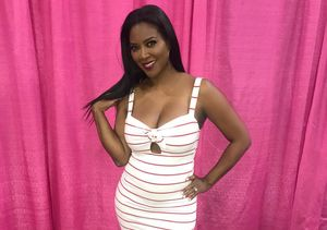 49-Year-Old Kenya Moore Debuts Growing Baby Bump