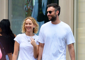 Pic! Jennifer Lawrence Looking Beyond Happy with New BF Cooke Maroney