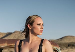 Danielle Savre Gets Seriously Sexy for Millennium