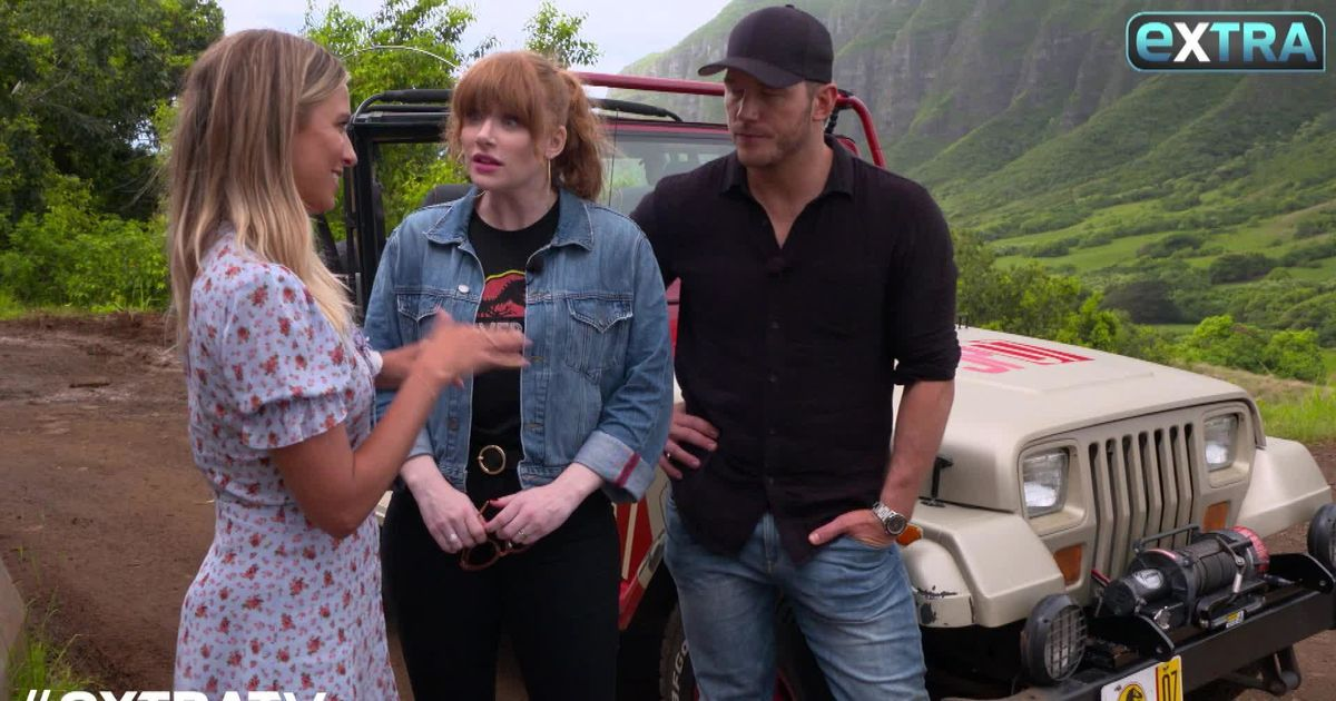 Dallas Water Company >> Chris Pratt & Bryce Dallas Howard on Their Kids' Love of Dinosaurs | ExtraTV.com