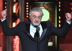 Robert De Niro's F-Rated Message to President Trump at the Tonys
