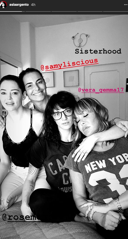 Asia-Argento-and-friends-instagram1