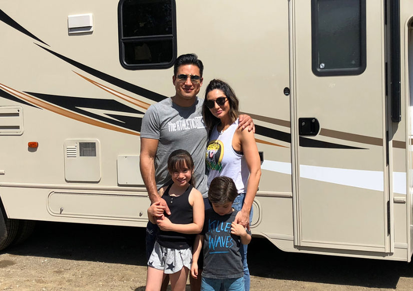 Go RVing! Mario Lopez Heads to Malibu with the Family