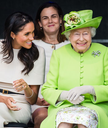 Meghan Markle's First Solo Outing with Queen Elizabeth — How They…