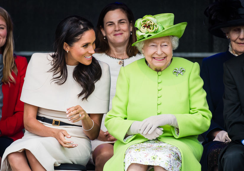 Meghan Markle's First Solo Outing with Queen Elizabeth — How They Avoided a Royal Mistake!