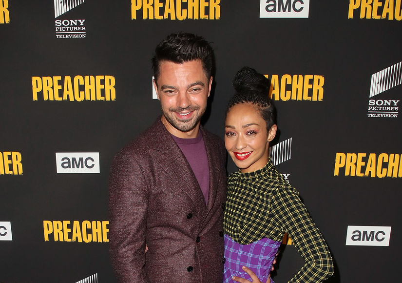 Exes Dominic Cooper & Ruth Negga Hit the Red Carpet Together
