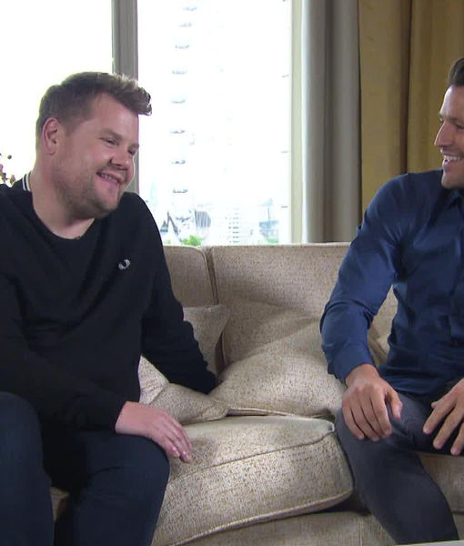 James Corden Dishes on Royal Wedding, Plus: His Run-In with the Cops