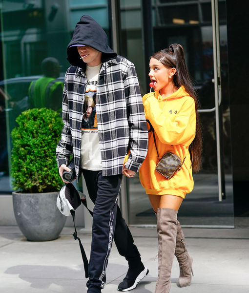 Pete Davidson Confirms Engagement to Ariana Grande, Reveals Funny Reaction from Guys on the Street