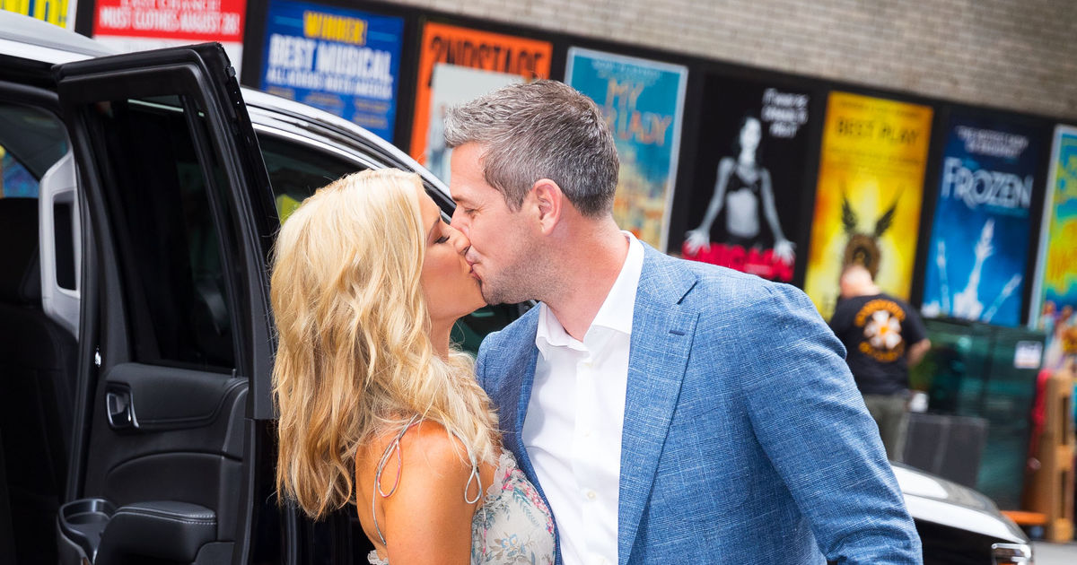 Christina El Moussa Smooches BF In NYC Dishes On Him