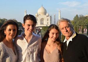 Catherine Zeta-Jones & Michael Douglas Dish on 'Close-Knit Family'