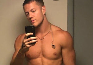 Post-Split Transformation! Imagine Dragons' Dan Reynolds Is Super Jacked