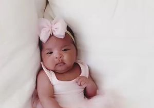 You Better Think Twice About Calling Khloé's Baby True 'Not Cute'!