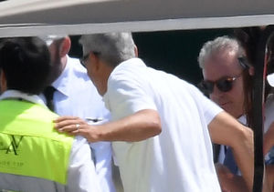 First Photos of George Clooney After His Terrifying Scooter Crash