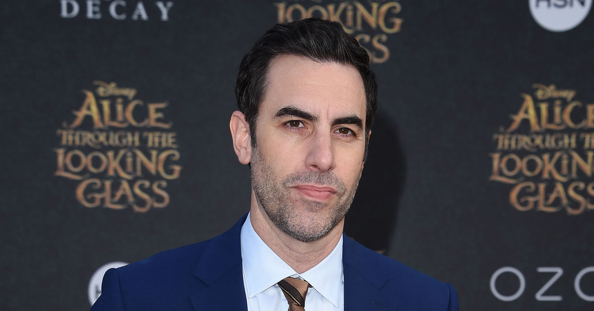 No More Dad Bod! Sacha Baron Cohen Is Now Completely ... Sacha Baron Cohen Spouse