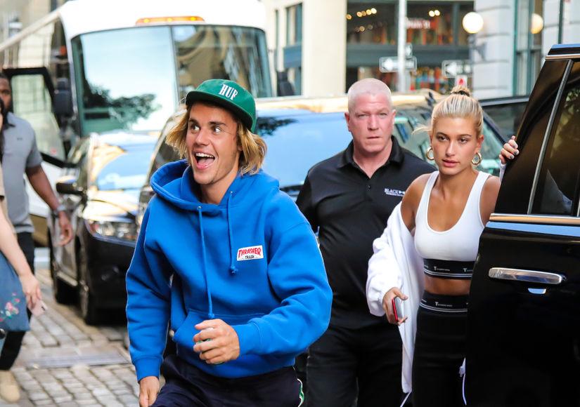 Justin Bieber Shares Eye-Popping PDA Pic with Hailey Baldwin