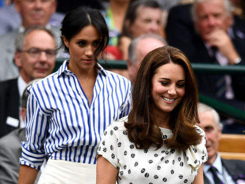 Meghan Markle & Kate Middleton's Wimbledon Date — See the Pics!
