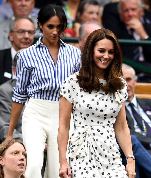 Meghan Markle & Kate Middleton's Wimbledon Date — See the Pics