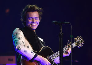 Harry Styles at Star-Studded Final Tour Stop: 'We're All a Little Bit…