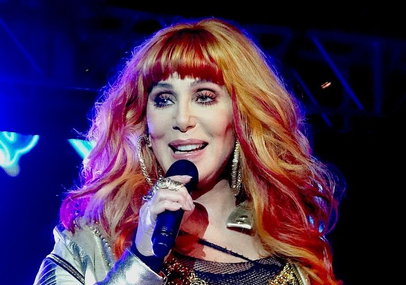 Cher Defends Her Trump Tweets, Burns Up the Charts with Andy Garcia