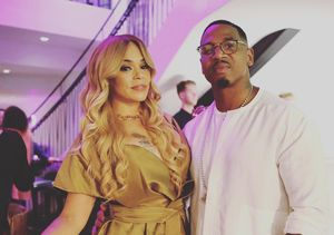 Quickie Wedding! Faith Evans Marries