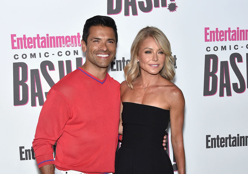 Kelly Ripa Jokes About Being Mark Consuelos' Mistress on 'Riverdale' Set