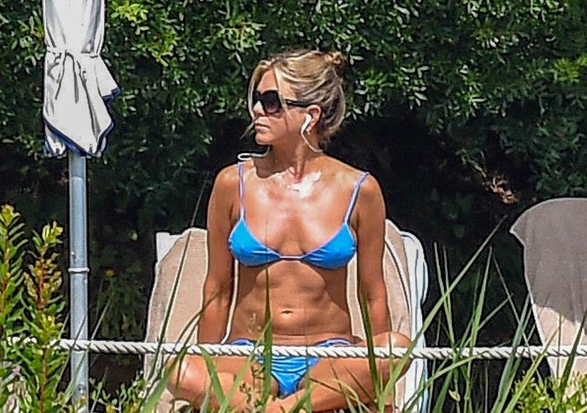 Flaunting It at 49! Jennifer Aniston Shows Off Her Revenge Bikini Bod