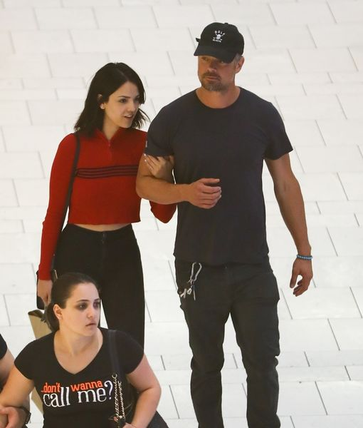 Josh Duhamel & Eiza Gonzalez Split
