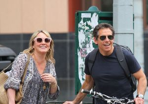 Pic! Ben Stiller & Christine Taylor Spotted Together After Separation