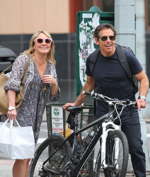 Pic! Ben Stiller & Christine Taylor Spotted Together After Separation