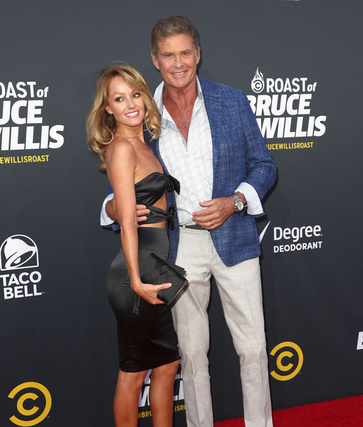 David Hasselhoff Marries Much Younger Model Hayley Roberts
