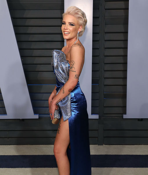 Ow! Halsey Reveals How She Broke Her Ankle in At-Home Accident