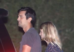 January Jones Spotted Walking Hand in Hand with Mystery Man
