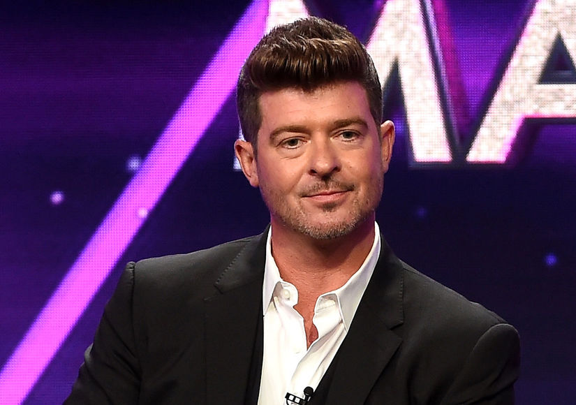 Robin Thicke Dishes on Dad Life with Baby Girl Mia: 'I'm Happily Exhausted'