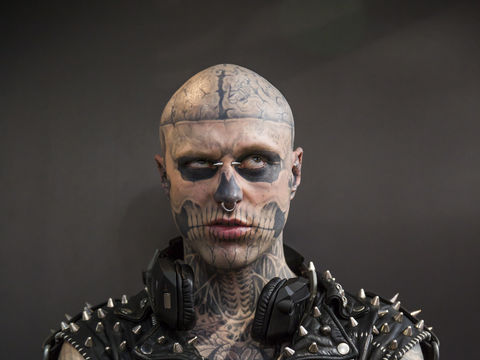 New Details Zombie Boy Rick Genest S Death May Not Have
