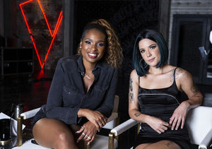 Jennifer Hudson & Team Advisor Halsey Open Up About Working…