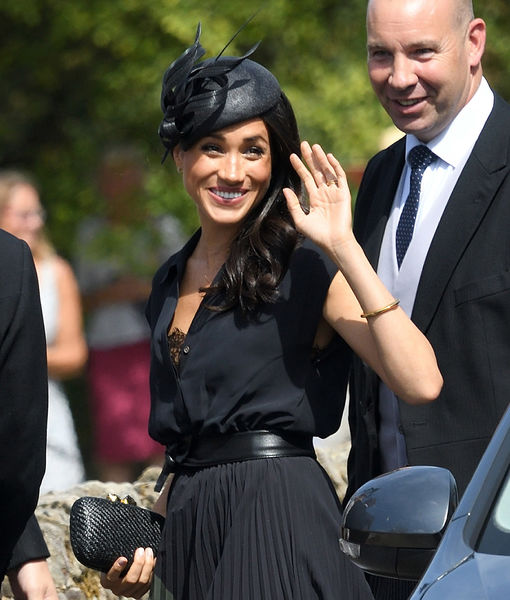 Meghan Markle's Royal Wardrobe Malfunction at Friend's Wedding