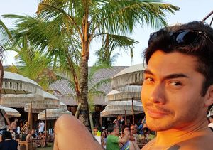 Henry Golding on His Abs