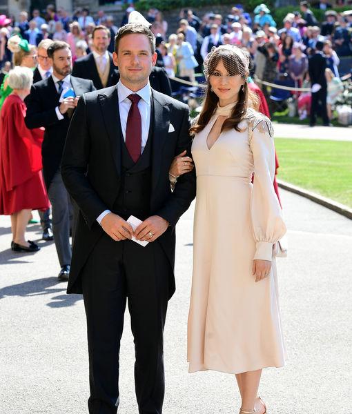 Meghan Markle's TV Husband Patrick J. Adams Expecting First Child