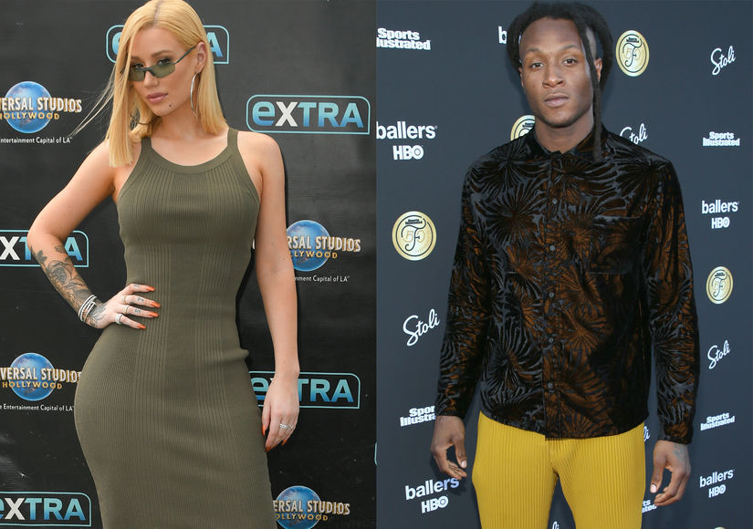 Iggy Azalea & DeAndre Hopkins Split One Day After Confirming Relationship