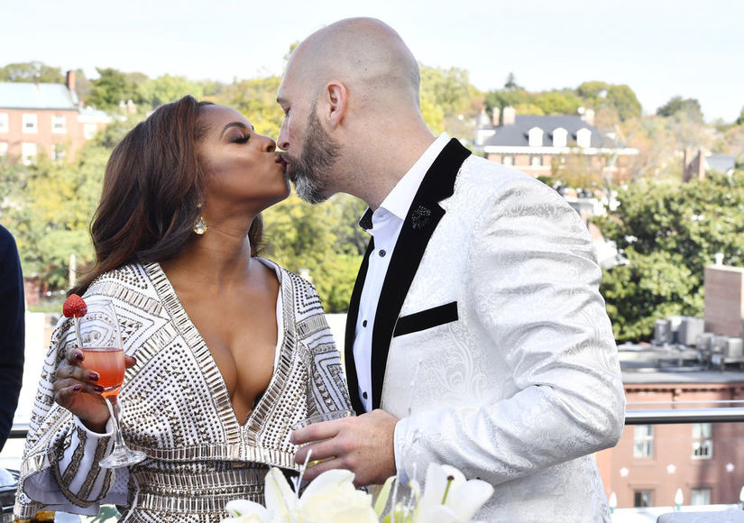 Just Married! Reality Star Candiace Dillard Weds Chris Bassett